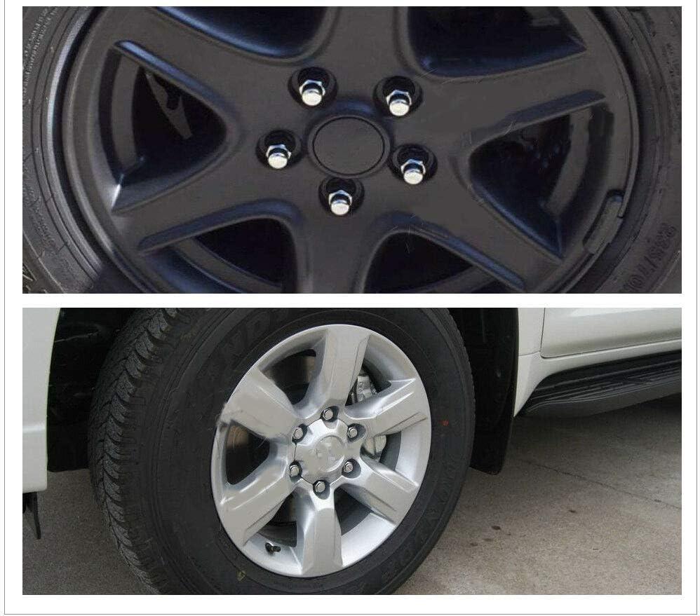 SHENGYAWAUTO 20 PCS Chrome 12x1.5 Wheel Lug Nuts Mag Seat Washer for Lexus Scion Toyota Camry US