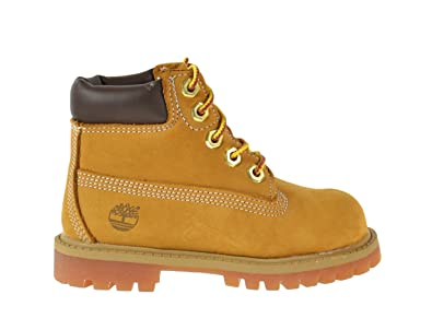 Timberland 6 Inch Premium Little Kids Boots Wheat 12809