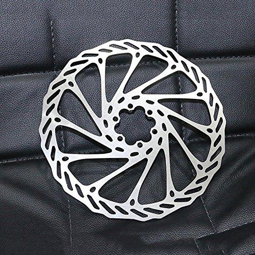 203mm WOVELOT Rotor de Disco de Freno de Acero Inoxidable de Bicicleta de Montana MTB Bicicleta 203 mm con Rotor de 6 Tornillos