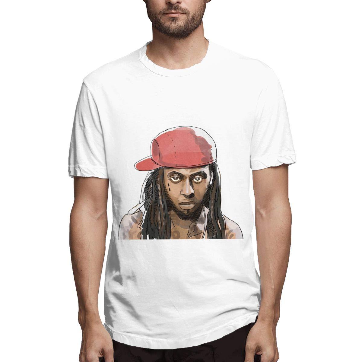 Lihehen Mans Lil Wayne Round Neck Shirt