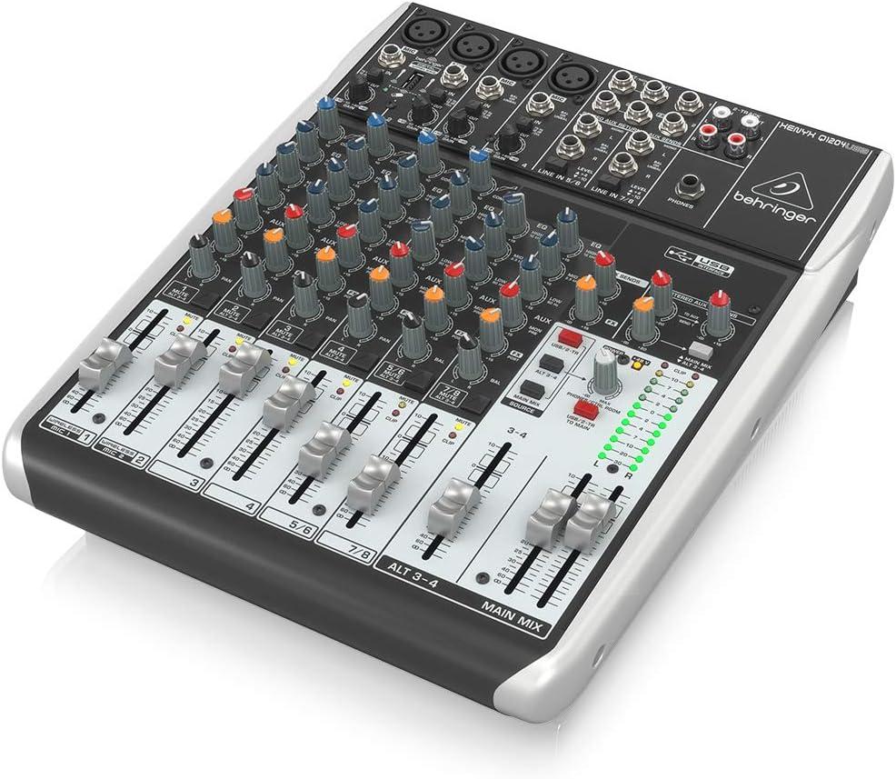 Behringer Q1204USB mezclador DJ - Mezclador para DJ: Amazon.es ...
