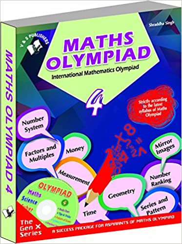 Buy International Maths Olympiad - Class 4 with CD: Theories