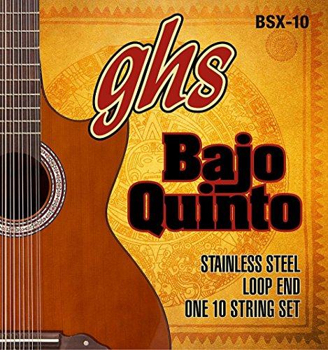 GHS Bajo Sexto 10-String Guitar Strings (Bajo Sexto Guitar String)