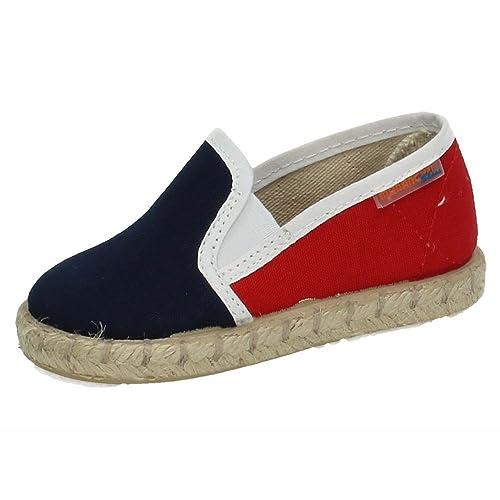 MORANCHEL 1307 Lona DE Esparto Azul NIÑO Zapatillas: Amazon.es: Zapatos y complementos