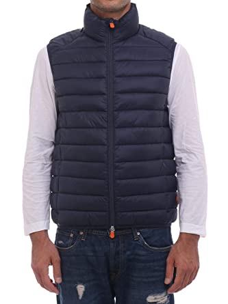 Save The Duck Gilet D8241MGIGA7 Blue Black: