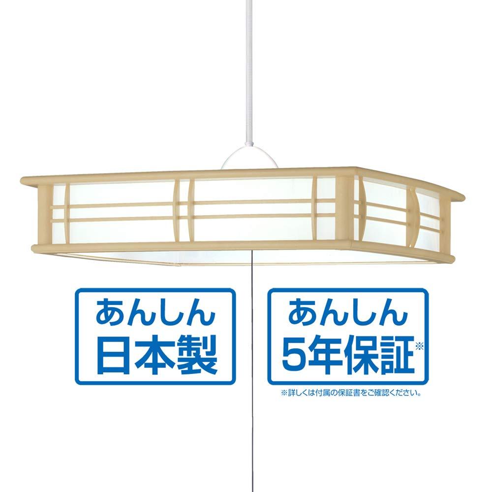 タキズミ LED 和室 リモコンペンダント~8畳白木調《調光単色タイプ》GVNR80097NT GVNR80097NT B07LC6YR8R