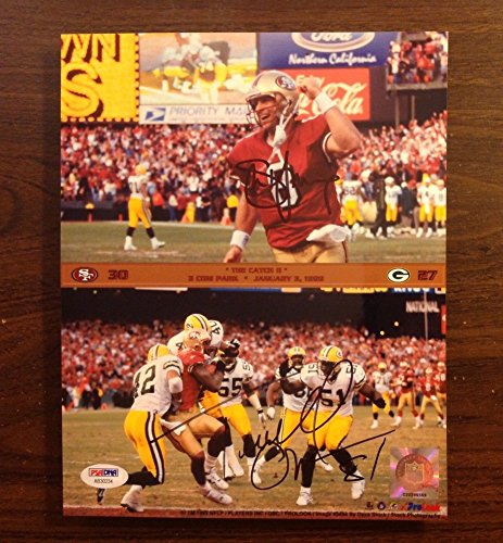Terrell Owens 8x10 Photo (Steve Young/ Terrell Owens Autograph 8 X 10 Signed Photo PSA/DNA San Francisco 49Ers)