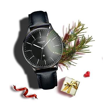 Famar Link Hybrid Smartwatch La noche negra reloj de pulsera de fitness APP solo es compatible