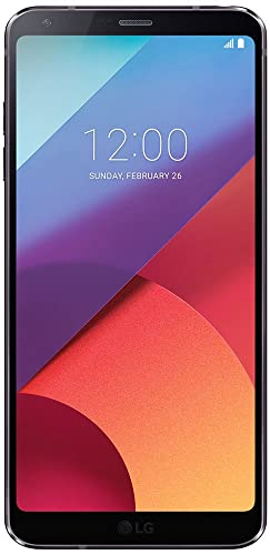 LG G6 H870 (LGH870.AGBRBK) Sim-Free Smartphone, 5.7-inch QHD+ Display, 4GB RAM, 32GB Storage, Android 7.0 - Astro Black