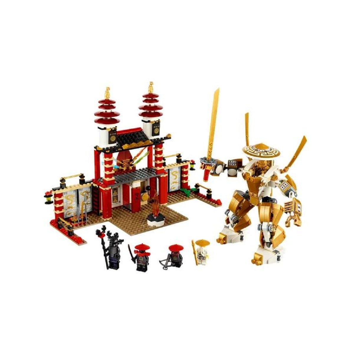 Amazon.com: LEGO NINJAGO Golden Ninja Temple of Light The ...