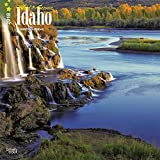 Idaho, Wild & Scenic 2018 12 x 12 Inch Monthly Square Wall Calendar, USA United States of America Rocky Mountain State Nature