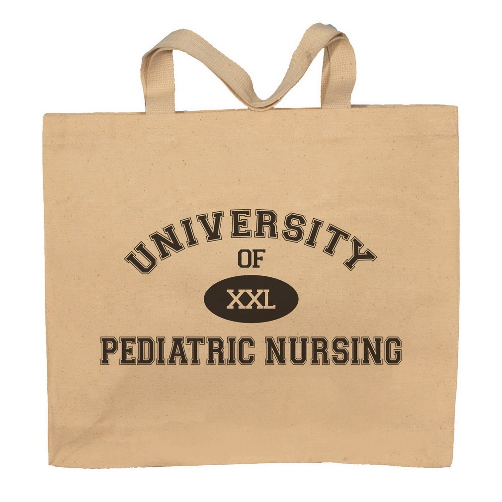 University Of XXL Pediatric Nursing Totebag Bag