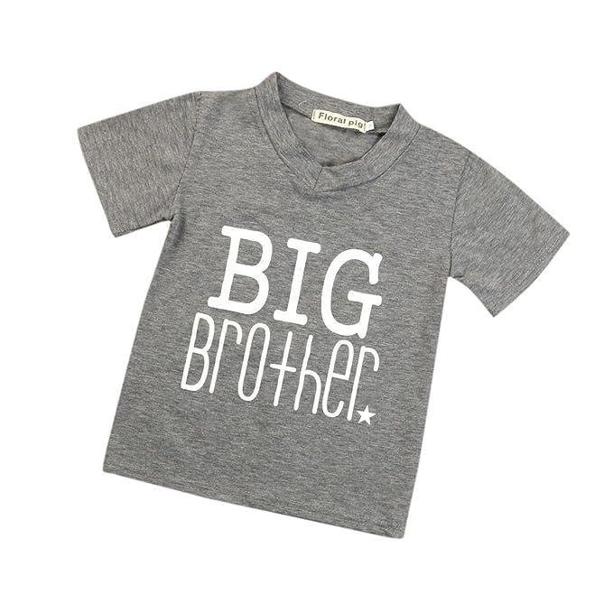 feiXIANG Ropa de bebé niña recién Nacida niño Primavera Verano Ropa para niños bebé Camisa de la impresión de la Camiseta Camiseta de los niños Ropa ...