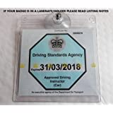 BITS4REASONS ADI BADGE HOLDER, WALLET AND PROTECTOR WITH 1 WINDSCREEN SUCTION CUP