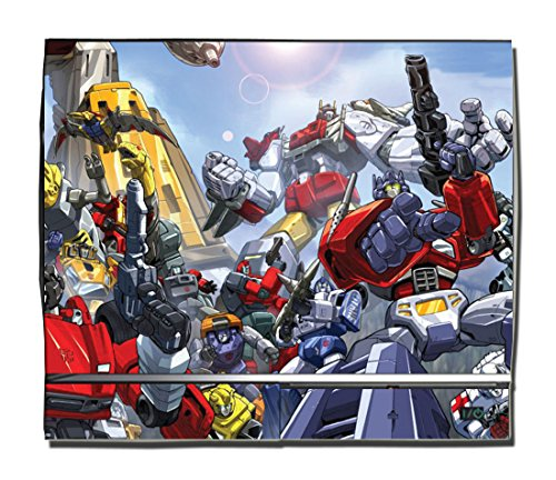 Transformers Optimus Prime Autobots 2 Animated Video Game Vinyl Decal Skin Sticker Cover for Sony Playstation 3 PS3