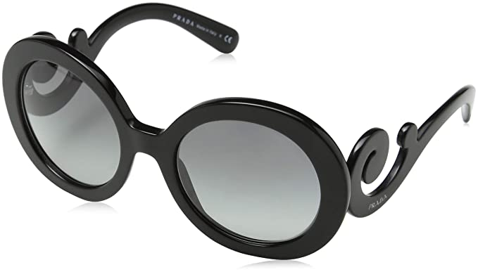 fa6c16b4533c Amazon.com: Prada Women's PR 27NS Black: Prada: Clothing