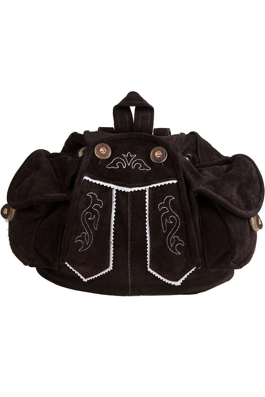 Damen Stützle Rucksack Lederhose braun, braun, Unisize