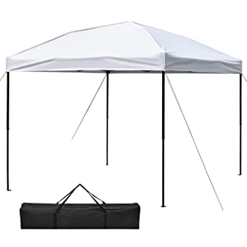 Ollieroo 10 x 10-Feet Outdoor Pop Up Portable Shade Instant Folding Canopy u0026 Carrying  sc 1 st  Amazon.com & Amazon.com: Ollieroo 10 x 10-Feet Outdoor Pop Up Portable Shade ...