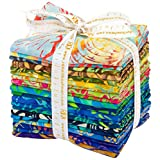 Lunn Studios Artisan Batiks Totally Tropical 5 20 Fat Quarter Bundle Robert Kaufman FQ-1144-20