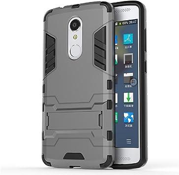 Bllosem ZTE Axon 7 Mini Case Hybrid Dual Layer PC+TPU Full Body ...