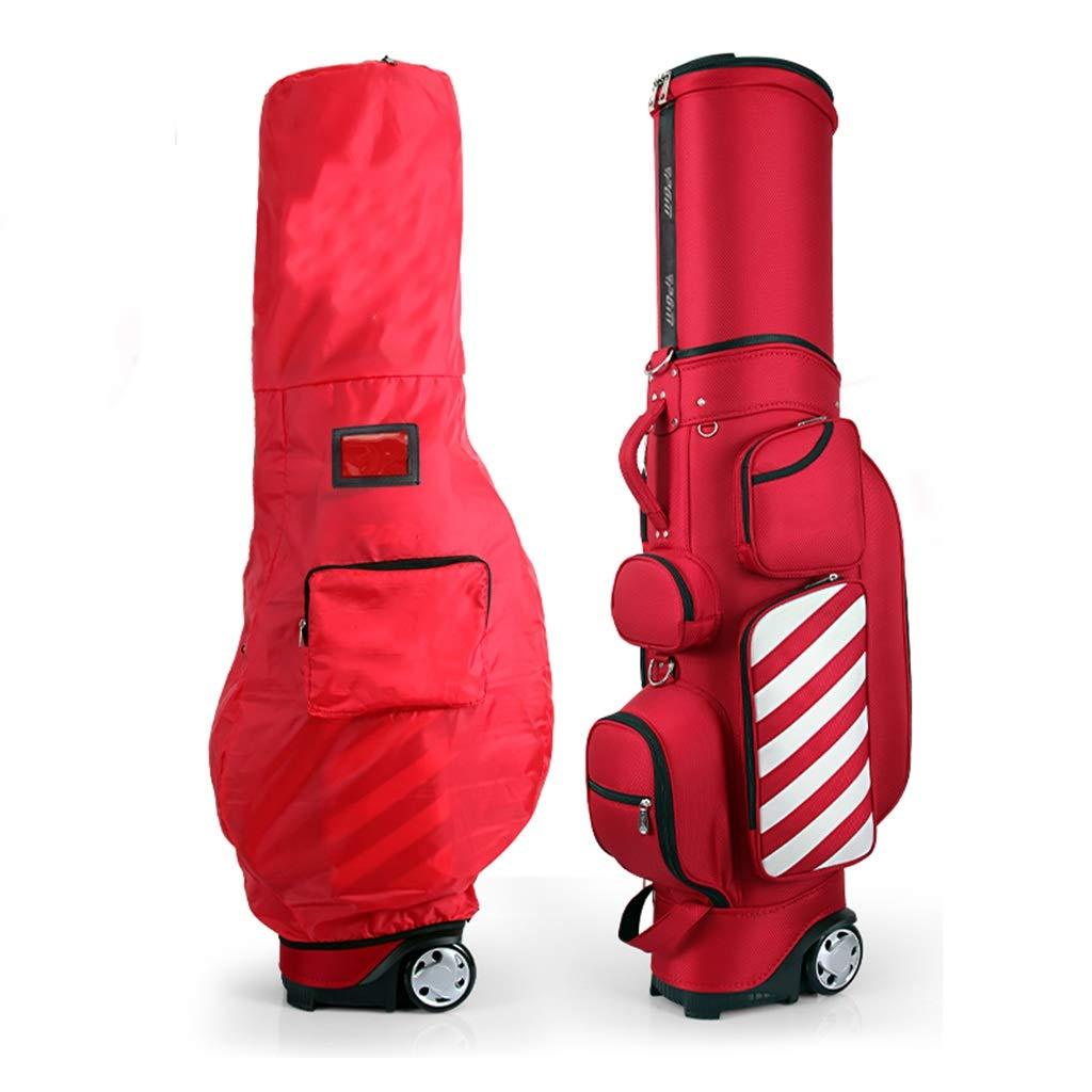 滑車の大容量の軽い携帯用ベルトが付いているゴルフバッグキューバッグの望遠鏡袋 (色 : B)  B B07PK21XN9