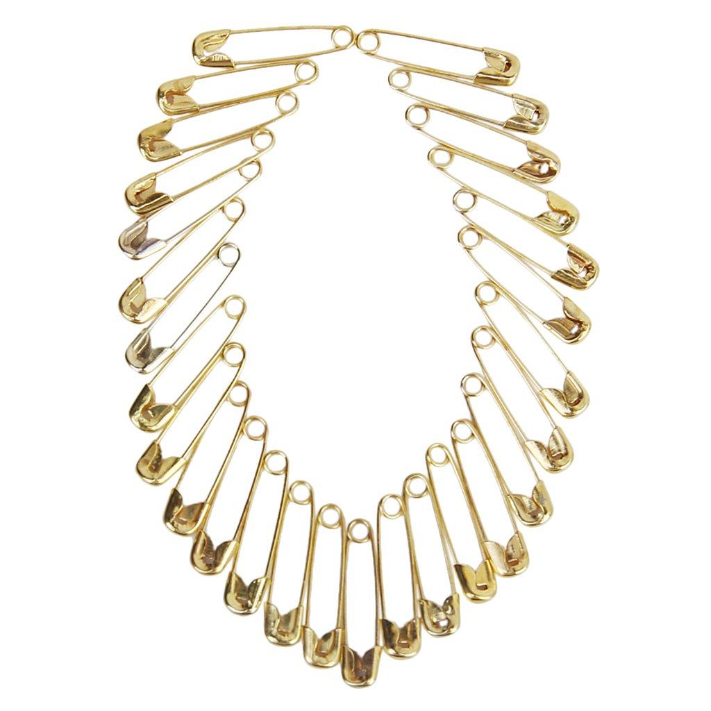 Sonline Lot 1000 Stk Metall Sicherheitsnadeln Gold Ton