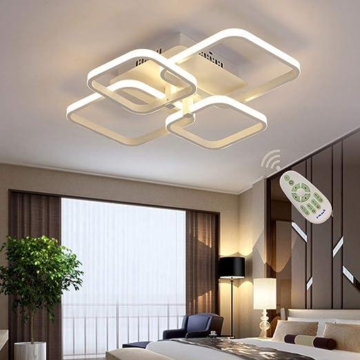 Amazon.com: Lámpara de techo moderna LED para comedor, sala ...