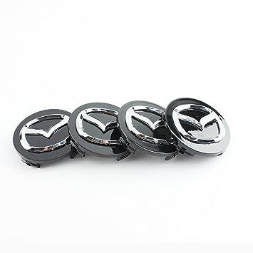 4 tapacubos de aleación de 56 mm, con el logo de Mazda: Amazon.es: Coche y moto