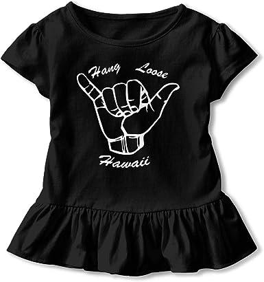SC/_VD08 Hawaii Kids Children Short Sleeve Shirt Sportwear