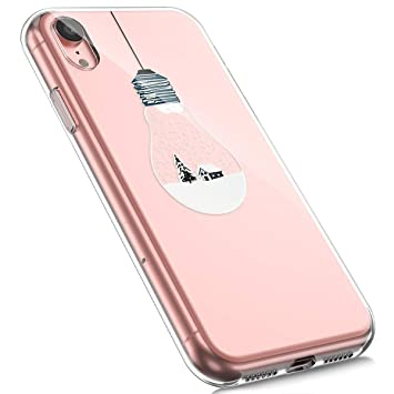 coque iphone xr transparente motif homme