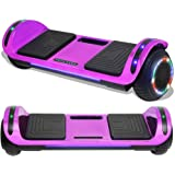 TPS Hoverboard Self Balancing Scooter with Speaker LED Lights Flashing Wheels for Kids and Adults Hover Board - UL Certified