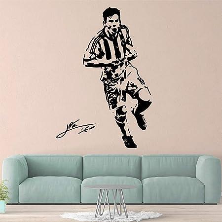Ajcwhml Fútbol fútbol Mural Pared calcomanía Arte Cartel ...