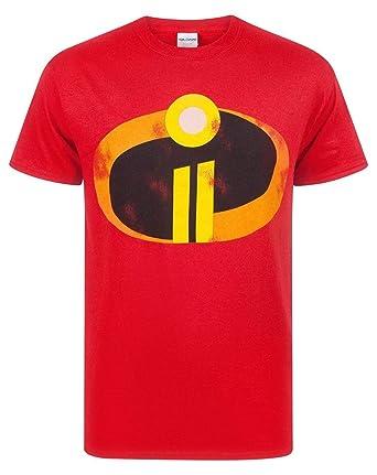 Los Increíbles 2 Hombres Adultos Traje Rojo de la Camiseta Top ...