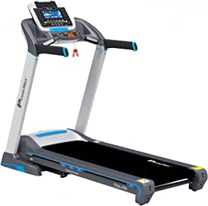 Powermax Fitness TDA-350 (6 HP Peak Motor) with 3 years warranty. Automatic Treadmill (Free Installation Service) - Foldable Motorized Running Indoor Treadmill for Home Use