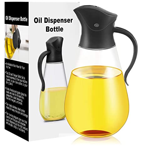 Amazon.com: Dispensador de aceite de oliva, recipiente para ...