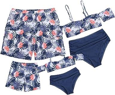 Pantalones cortos y bikini a juego