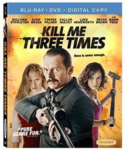 Blu-ray : Kill Me Three Times (Dolby, , Widescreen)