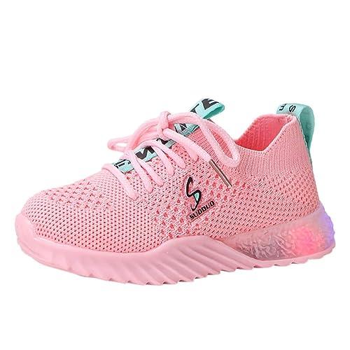 Precioul Unisex Kinder Turnschuhe Licht LED Sneaker Blinkt