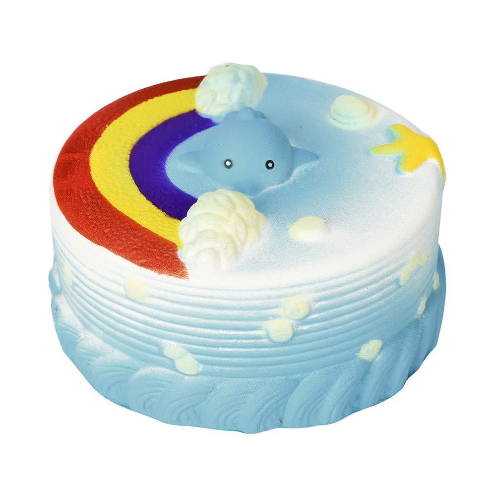 Prise Druck Dekompression Spielzeug langsam Rebound PU Extrusion Spielzeug, Malloom 11cm Meer Kuchen Creme Squeeze Squishy steigende Dekompression Squeeze Malloom-Bekleidung