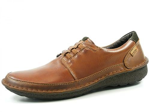 Pikolinos Hombre Zapatos llanos marrón, (braun) 01G-3070 CUERO: Amazon.es: Zapatos y complementos