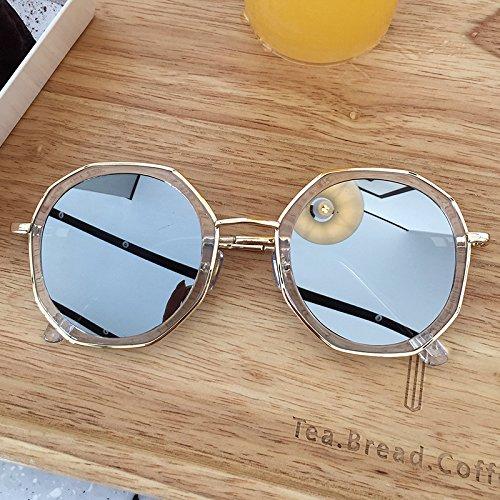 Gafas Gafas De Sol zhenghao De Personalidad c1 Femenina De Moda Hombres Los De Sol C2 Y Xue TvwIqx55