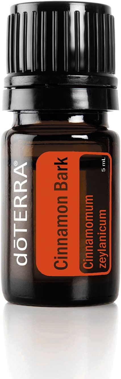 doTERRA – Cinnamon Bark Essential Oil – Supports Healthy Metabolic Function, Maintains a Healthy Immune System, Naturally Repels Insects for Diffusion, Internal, or Topical Use – 5 mL
