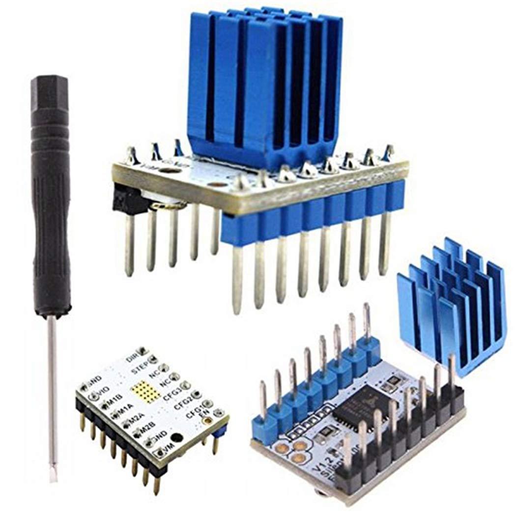 Fansport Controlador del Motor TMC2100 Impresora 3D Controlador ...