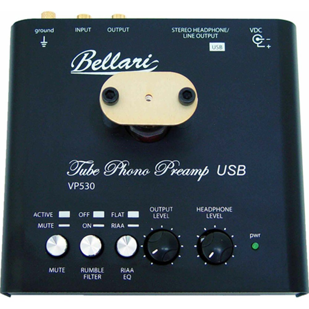 Bellari VP530 Tube Phono Preamp with USB Output by Bellari