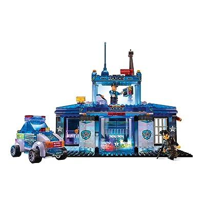 Lite Brix CRA-Z-Art Police Station: Toys & Games