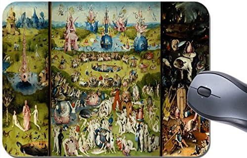 Funkyzilla Hieronymus Bosch el jardín de Las delicias Alfombrilla de ratón Alfombrilla de ratón: Amazon.es: Electrónica