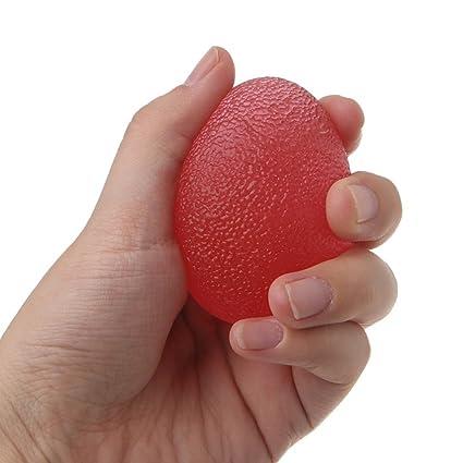 zhouba suave huevo estrés pelota mano dedo fuerza ejercicio ...