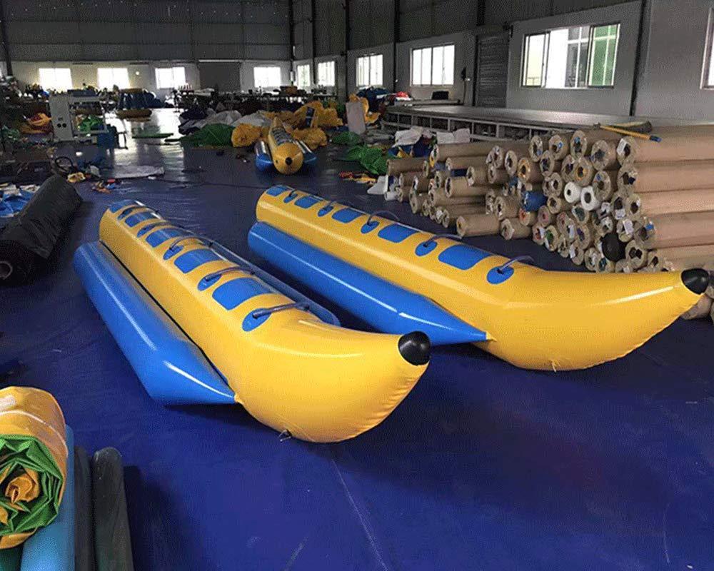 Amazon.com: JYNselling 3/4/5/6 persona inflable Banana Barco ...
