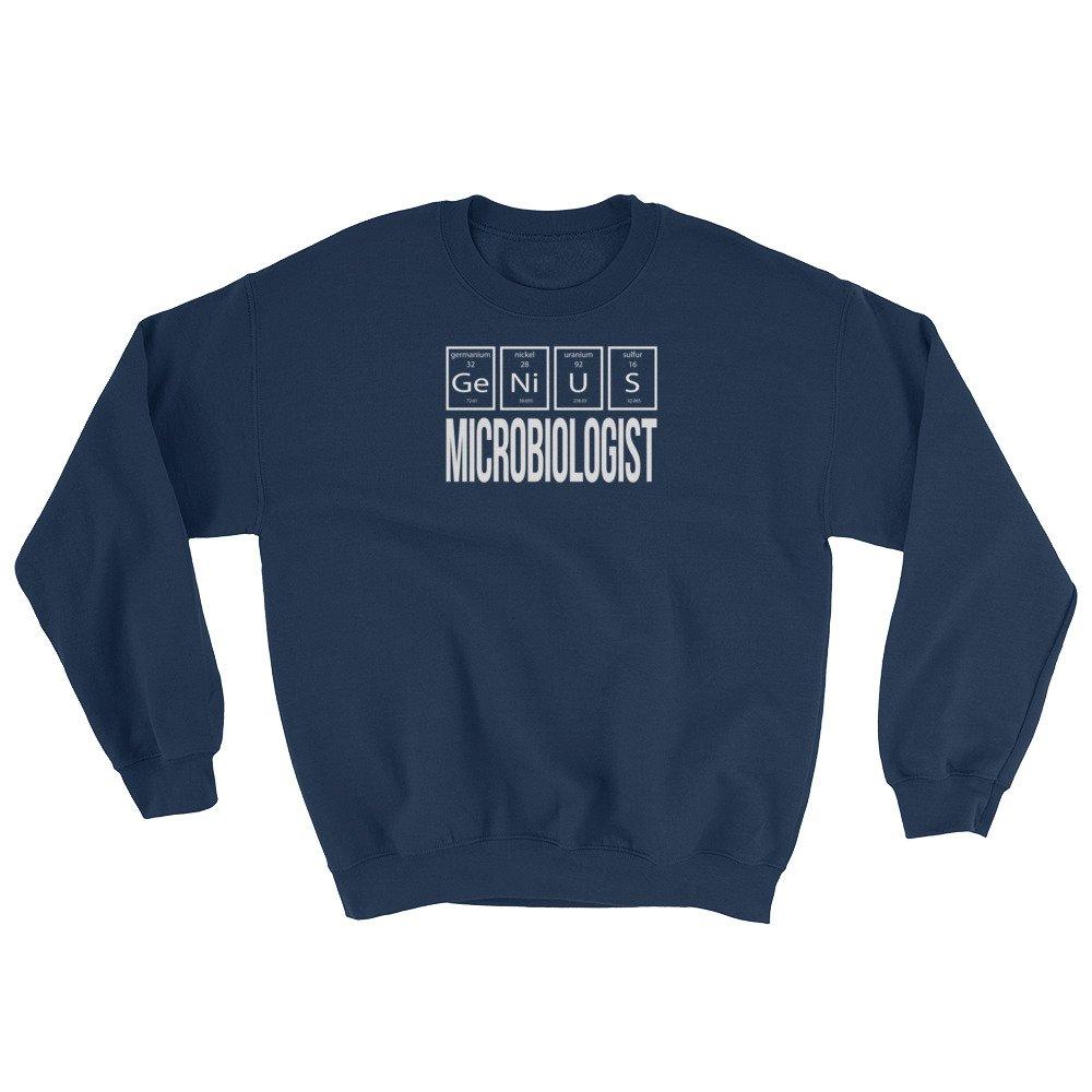 Science Genius Microbiologist Periodic Table of Elements Sweatshirt