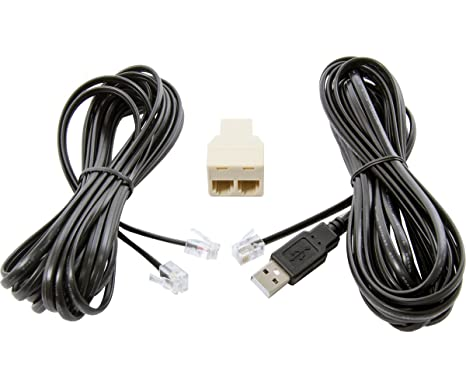 Schema Cablaggio Rj12 : Amazon.com : phantom 15 usb rj12 controller cable pack : garden
